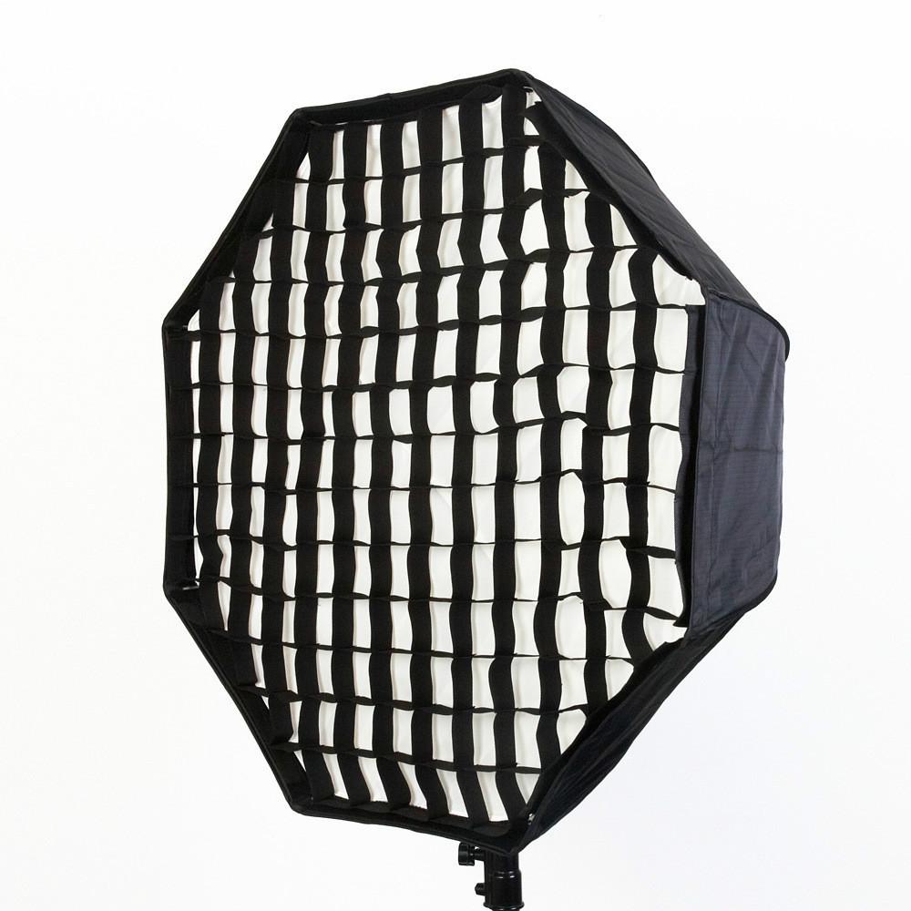 95cm Octagon Umbrella Softbox Diffuser Reflector with Gird for Speedlite Flash Studio Soft Box Photography Accesorios Fotografia(China (Mainland))