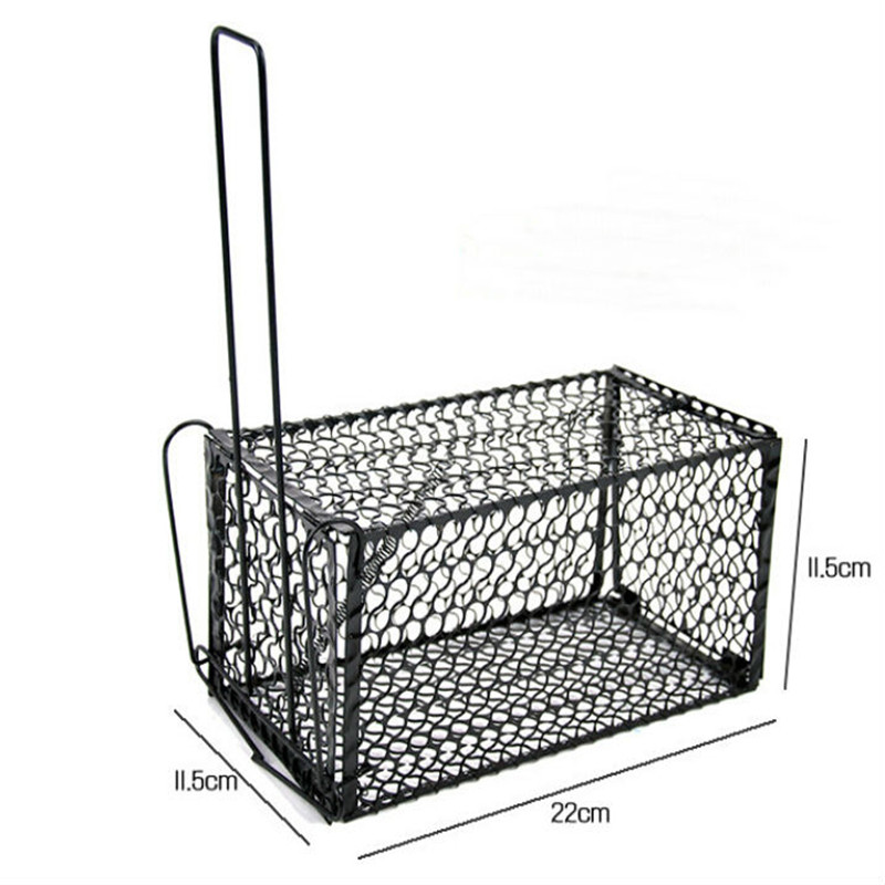 Rat Cage Mice Rodent Animal Control Catch Bait Hamster Mouse Trap Humane Live high quality brand new DS645(China (Mainland))