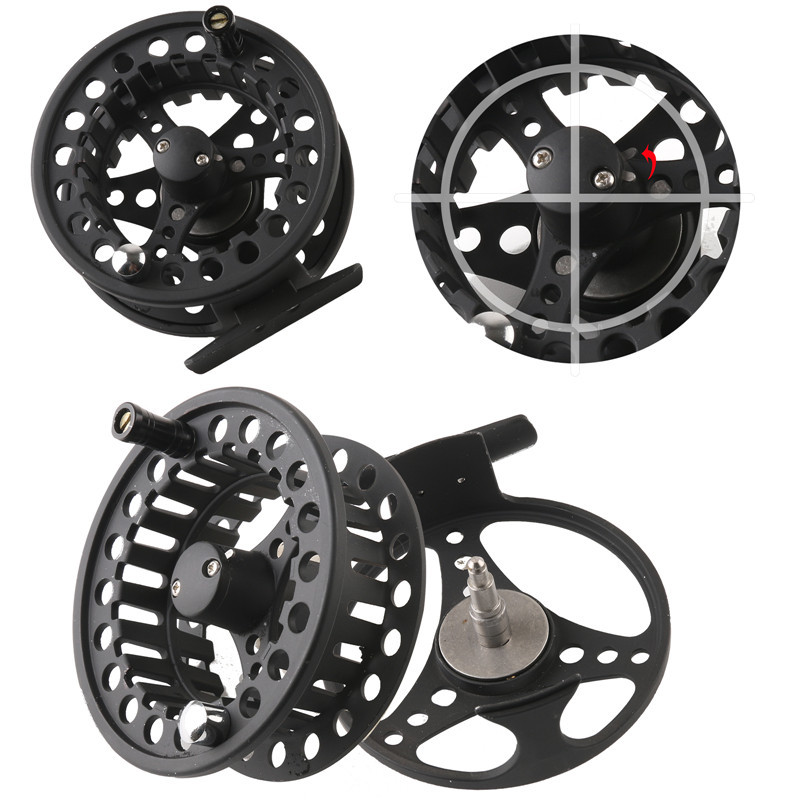 Fly Fishing Reel 7/8WT Aluminum Frame And Spool Right or Left Hand Can Be Changed Fly Reel(China (Mainland))