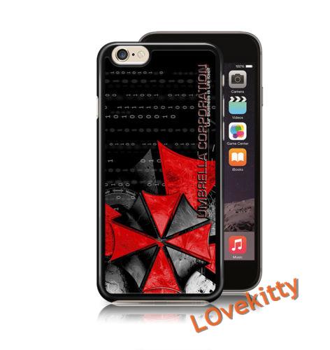 Resident Evil Umbrella Corporation T Virus fashion cover case for iphone 4 4s 5 5s 5c SE 6 6s 6Plus & 6S plus #M988(China (Mainland))