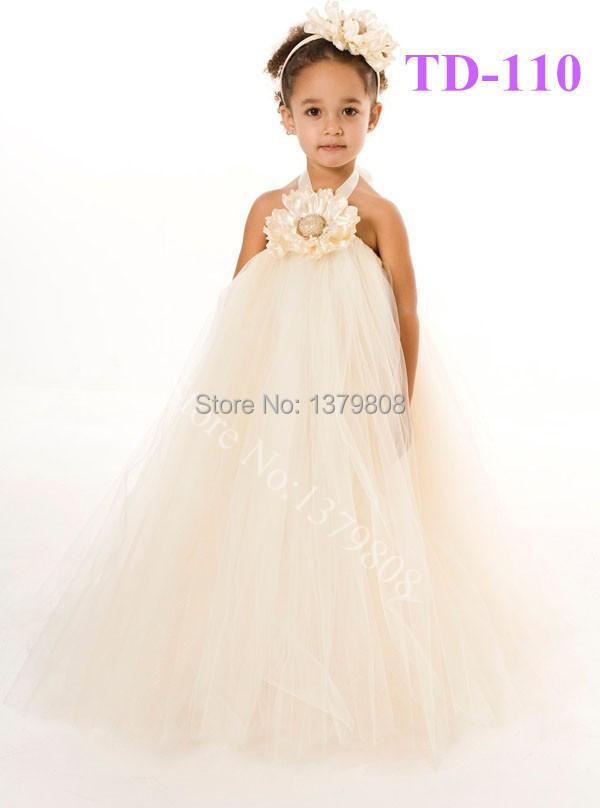 Free shipping Handmade children evening dress with flower corsage bohemian girls birthday dress,party dress for kids(China (Mainland))