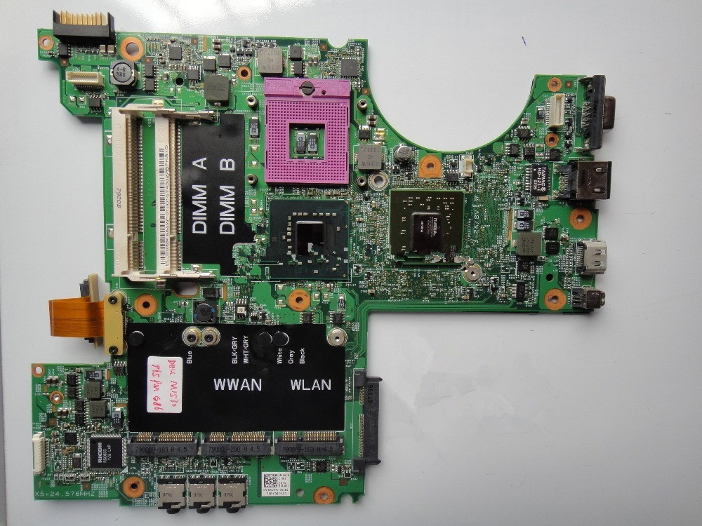 Free shipping Free shipping Laptop Motherboard for dell M1530 non-integrated G86-730-A2 with 2 video memory DDR2 100% Working(China (Mainland))