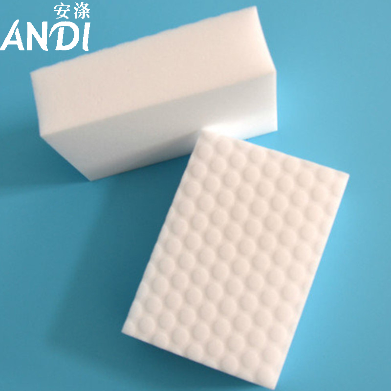 30pcs/lot High Quality 10x6x2cm ANDI Double Compressed nano sponge Magic Sponge Eraser Melamine Cleaner for Kitchen Cleaning(China (Mainland))