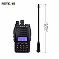 Retevis RT23 Walkie Talkie Cross Band Repeater UHF VHF 136 174 400 480Mhz Dual PTT Dual