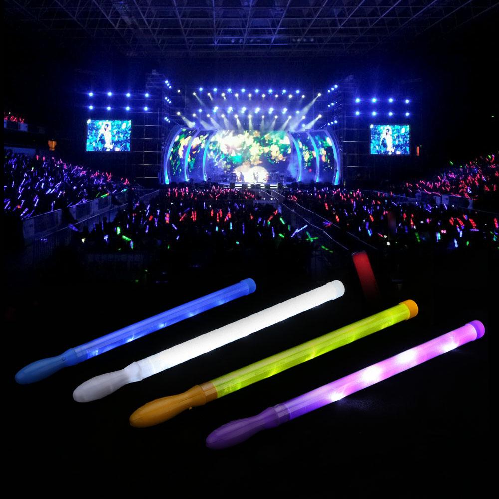 Anself Euro Cup Fans LED Light Up Light Stick Lanyard Flashing Blinking Glow Sticks Dazzle Electronic Glo-sticks Flashlight(China (Mainland))