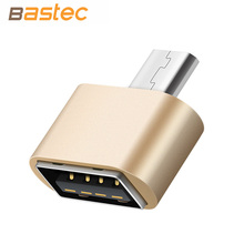 Bastec Metal Mini Micro USB To USB OTG Adapter 2.0 Converter for Samsung XIomi LG Sony TCL Huawei (China (Mainland))