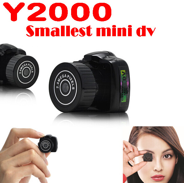 Y2000 mini camera HD Micro Camera Digital Spy for Cam Video Hidden Voice Recorder Camcorder Camara Camara Espia(China (Mainland))