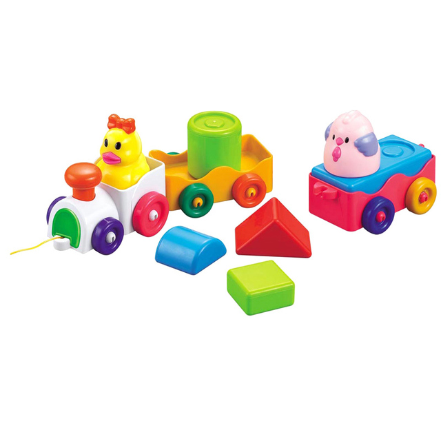 Puzzle cartoon small train 838 - 18 infant toys