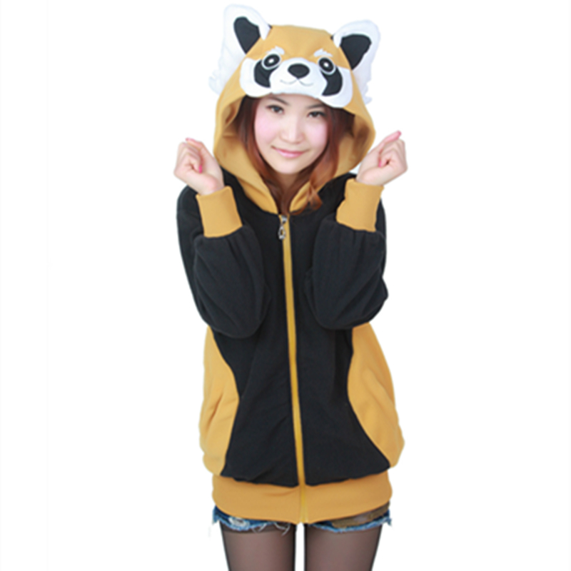 Sweatshirts Lon... Raccoon Costume Men