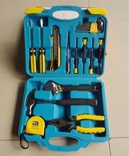 14 unidades combinación juego de regalo de herramientas y hardware herramientas caja de herramientas caja de herramientas del hogar prácticos