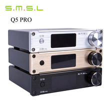 SMSL Q5 Pro 45W*2 HiFi 2.0 Pure Mini Home Digital Audio Power Amplifier 24bit/96kHz USB DAC/Optical/Coaxial With Remote Control(China (Mainland))