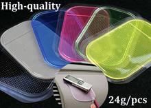 24g Magic spider Powerful Silica Gel non-slip Anti-skid car anti slip pad sticky mat Thick Thickened *5000pcs/lot(China (Mainland))
