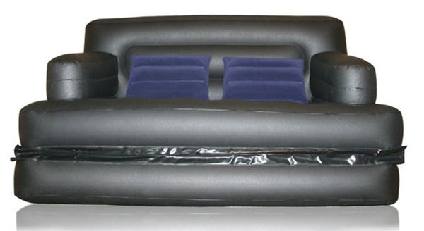 Pvc cama de aire compra lotes baratos de pvc cama de for Sofa cama inflable