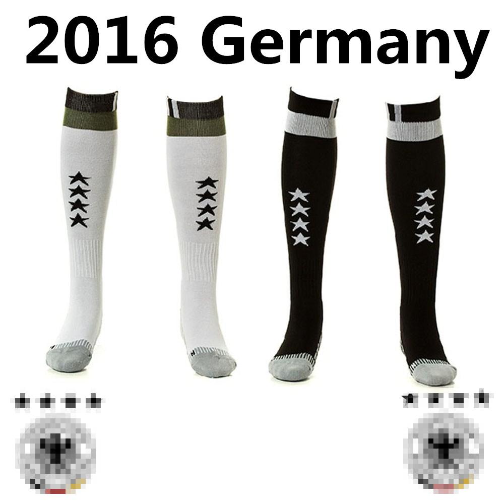 37-44 adults 2015/16 Germany SOCCER FOOTBALL Socks Socken Home Away MEN Strumpf German Fussball Bund CHAMPIONS Sports training(China (Mainland))