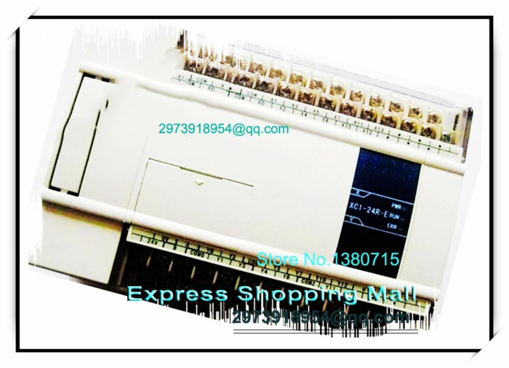 12point NPN input 12point relay output XC1-24R-C XINJE PLC DC24V 2COM with programming cable&amp;software<br>
