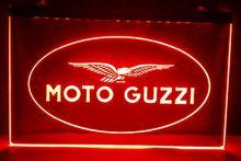 Moto Guzzi Motorcycle Bar Beer pub club 3d signs LED Neon Sign home decor crafts(China (Mainland))