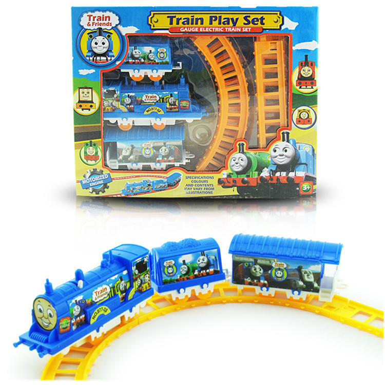 Hot Kids toys Thomas train toys for children Classic toys Mini Electric Train Set Track Slot toys Brinquedos Thomas and friends(China (Mainland))