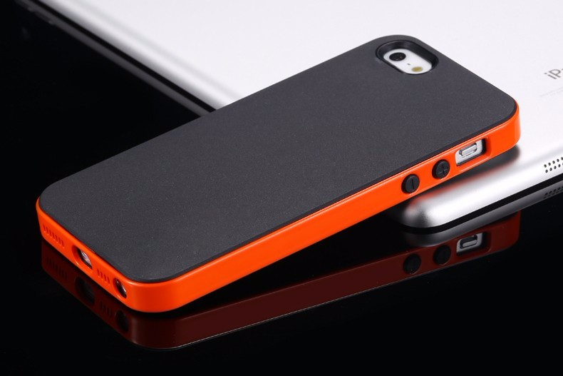4S 5S 5C SE Ultra Thin Armor With Original Logo Case For iphone 5 5s 4s SE TPU+PC Hybrid Tough Mobile Phone Back Cover i5 i4 5c