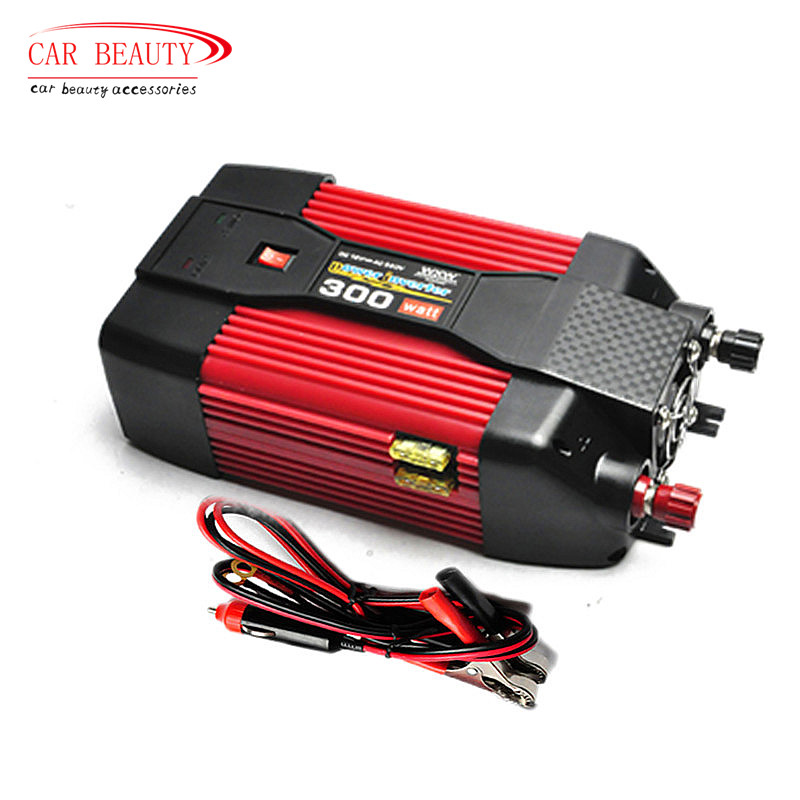 300W 300Watt 12V DC To 220V AC Power Inverter Car Power Inverter Modified Sine Wave USB Car Charger Laptop Adapter(China (Mainland))