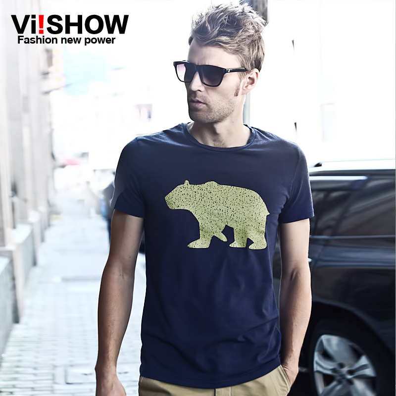 Free Shipping new arrival hot sale 2016 60% off animal cotton men's t-shirt summer style animal pattern men's t-shirt TD109(China (Mainland))