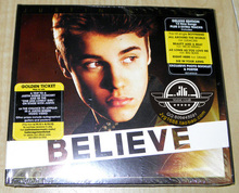 Justin bieber crede cd (deluxe edition) (americano)(China (Mainland))