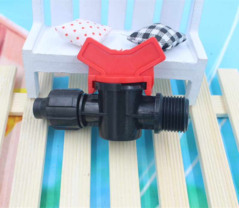 Valve 16mm X 1/2inch Mini Water Hose Valve With Ball Irrigation For Micro Irrigation Cc116(China (Mainland))