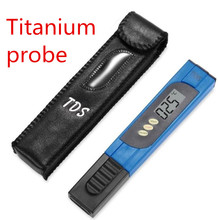 Buy hot sales Water Purity Tester ph tds meter aquarium 0-9999ppm monitor Titanium probe large screen for $4.66 in AliExpress store