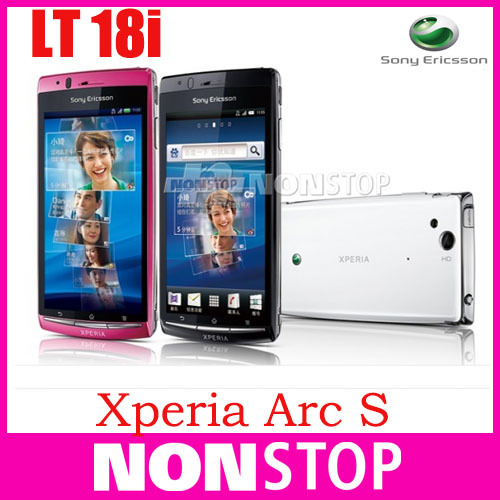 LT18 Original Sony Xperia Arc S LT18i cell phone Phone 3G WIFI A-GPS 4.2 TouchScreen 8MP Camera(China (Mainland))