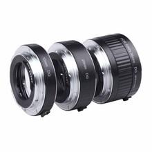 Buy Viltrox Metal Mount Auto Focus AF Macro Extension Tube Lens Adapter Canon EOS 750D 700D 650D 70D 60D 5D II for $38.99 in AliExpress store