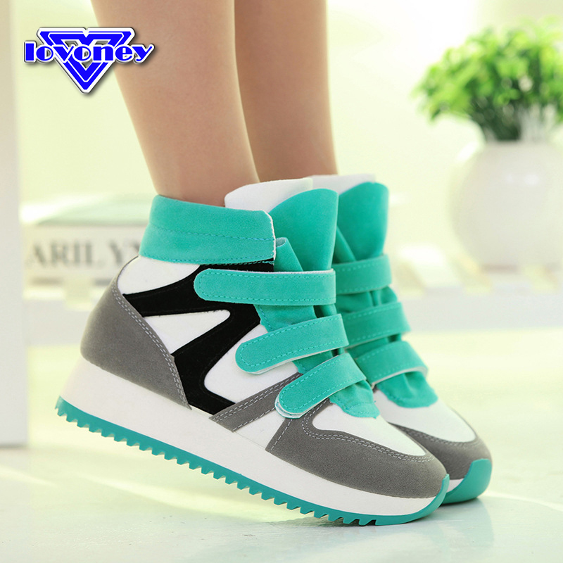 Гаджет  Zapatos Mujer 2015 New Design Shoes Woman High Style Fashion Height Increasing Sneakers Women Huraches Drop Shipping AS930 None Обувь