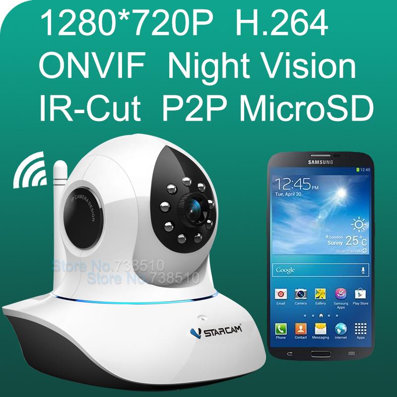 T7838WIP H.264 720P HD IP 64GB SD Security Camera System Plug Wireless CCTV Cameras Wifi Endoscope Micro Surveillance Door Cam(China (Mainland))