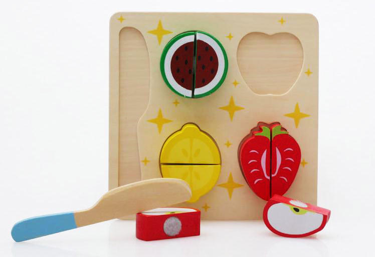 Free delivery factory price Wooden toys fruits and vegetables Model, kids toys, Kitchen Pretend Play toys(China (Mainland))