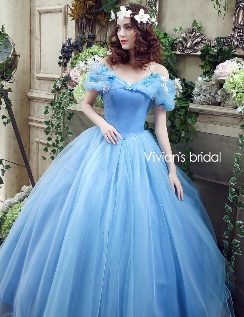 Review Vivian\'s Bridal New Movie Deluxe Adult Cinderella Wedding ...