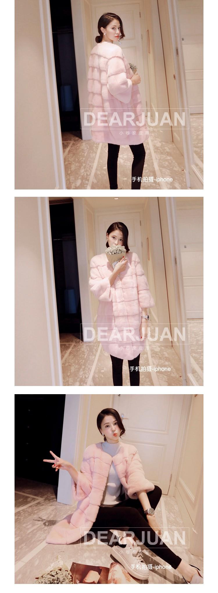 Mink coat whole mink fur coat