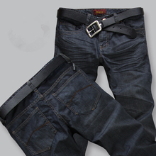 Classic 2015 High Quality Men's Stretch Jeans Cotton Denim Jeans Casual Straight Washed Pants Fashion Jeans men Size:28~42
