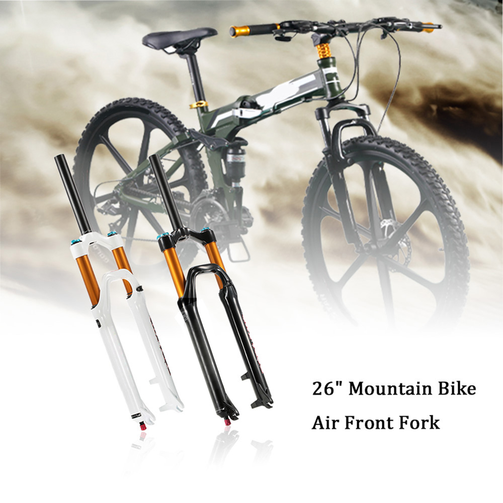 """26"""" Ultralight Mountain Bike Air Front Fork Aluminum Alloy Bicycle Suspension MTB Bike Forks(China (Mainland))"""