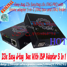 100% original Z3x Easy J-tag  Box With ISP Adaptor 5 In 1(China (Mainland))