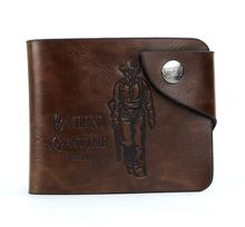 Men's Solid  PU Leather Card Wallet