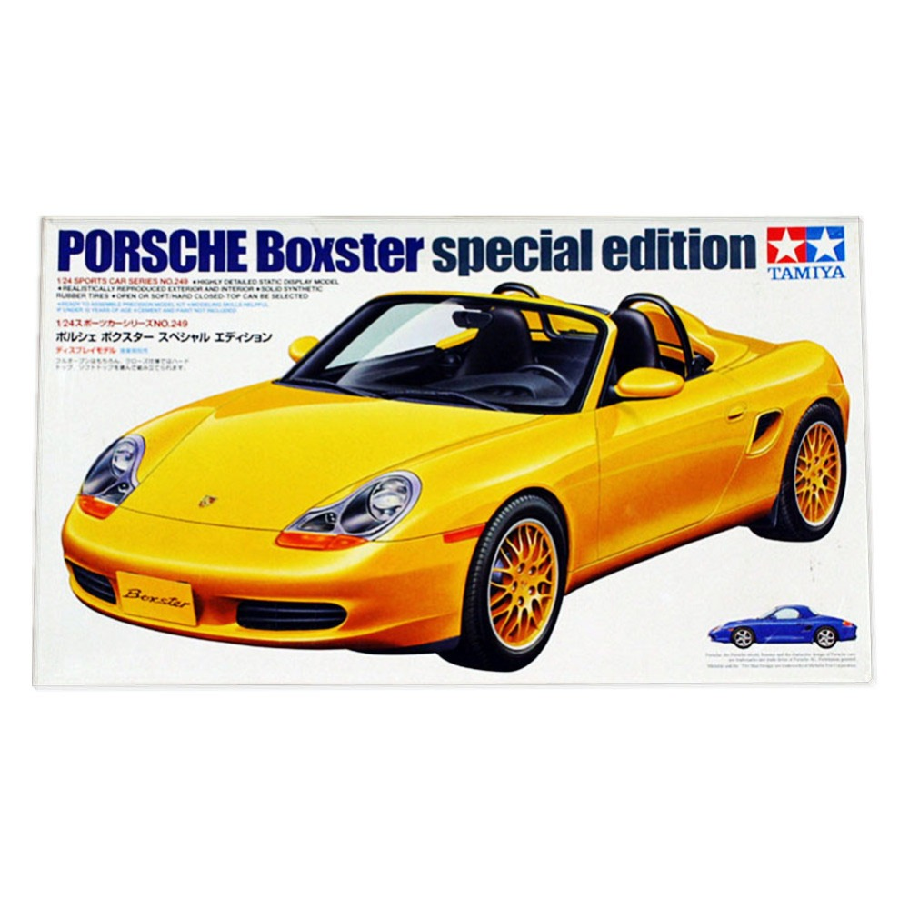 Tamiya 24249 1/24 Boxster Special Edition Scale Assembly Car Model Building Kits TTH(China (Mainland))