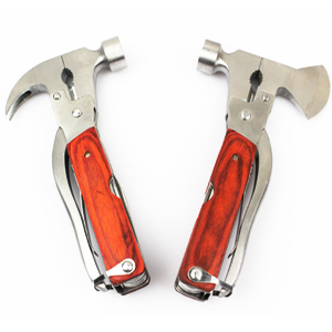 Multifunctional axe plier hammer outdoor tool camping tools folding knife multi purpose tool emergency