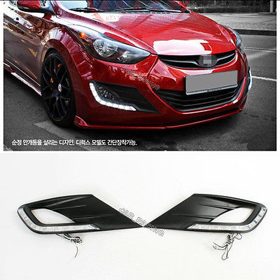 Фотография DRL Daytime Running Light Lamp Fit For Hyundai Elantra Avante 2011-2012
