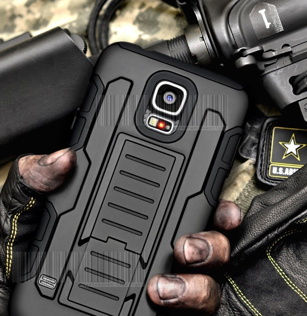 Rugged Armor Impact Holster Hard Case For Samsung Galaxy S4 S5 S6 Avtive S7 S7 Edge Plus Note2 3 4 5 I9082 I9080 G360 G530 Cover(China (Mainland))