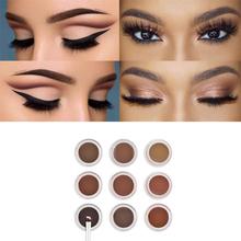 ABH HOT SALE Beverly Hills DIPBROW POMADE Eye Brow Waterproof Eyebrow Enhancers Filler With Retail Package chocolate dark brown(China (Mainland))