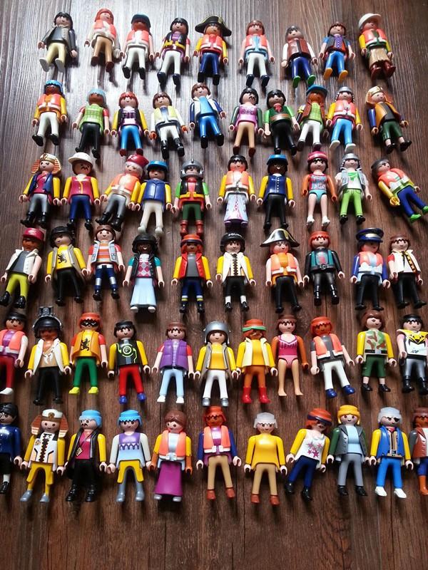 50pcs/lot 7cm playmobil ABS Blocks figures paddle pop small toys Knights figures random castle child Toy