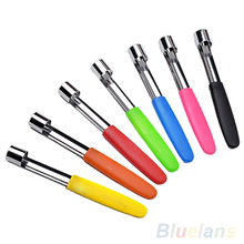 Steel Easy Twist Core Seed Remover Fruit Apple Corer Pitter Seeder Kitchen Tool Random color 4CWS(China (Mainland))