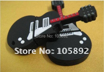 Special offer !!!Freeshipping DHL PVC Guitar Gift USB in the lowest price