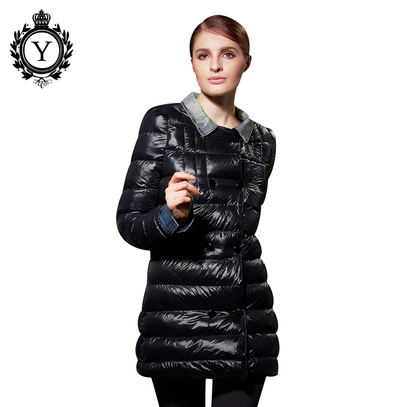 COUTUDI New Brand Winter Jacket Women Hot Sale Female Down Coat Solid Black Long Jaqueta Feminina Slim Parkas Abrigos Mujer 801(China (Mainland))