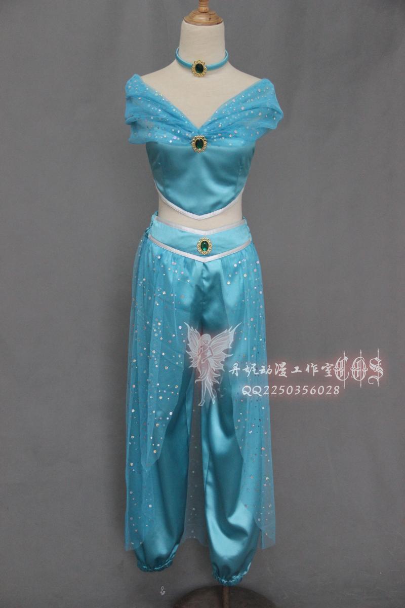 Cosplay Costume Professional Aladdin Jasmine Aladdin Theme Costumes Princess For Women