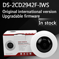 in stock English version DS 2CD2942F IWS 4MP Compact Fisheye Network Camera Support Wi Fi support