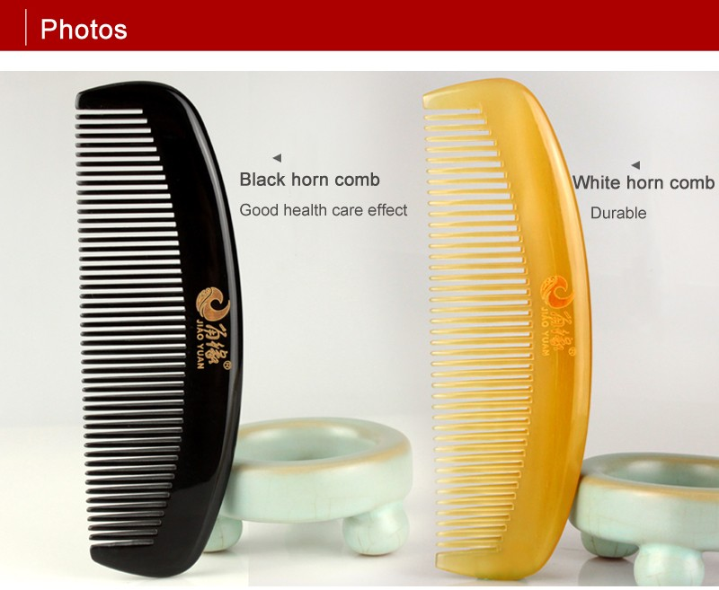 D&R Tangle Elite Hair Brush Pocket Homeuse Horn Comb OX Sheep Horn Anti Static Health Care Masager cheap